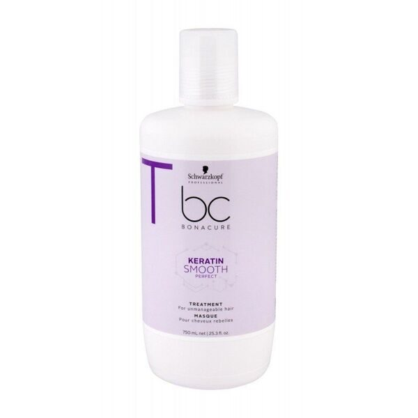 SCHWARZKOPF PROFESSIONAL УХОД ЗА ВОЛОСАМИ BC SMOOTH PERFECT KERATIN МАСКА 750 МЛ