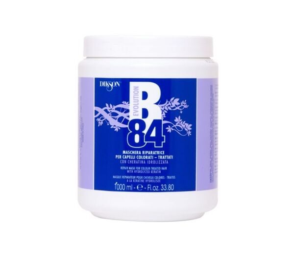 B84 REPAIR MASK FOR COLOUR-TREATED HAIR/ ВОССТАНАВЛИВАЮЩАЯ МАСКА ДЛЯ ОКРАШЕННЫХ ВОЛОС 1000МЛ